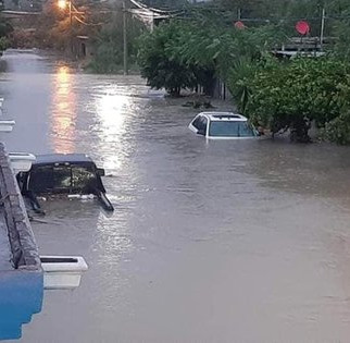 Tormenta Tropical Hanna deja dos muertos en Tamaulipas