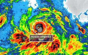 El huracán 'Bud' alcanza la categoría 3 cerca de costas mexicanas