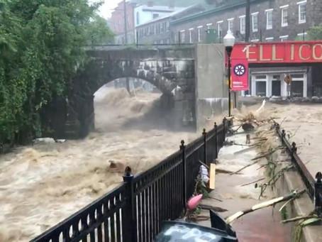 Inundaciones relámpago dejan un desaparecido en el estado de Maryland
