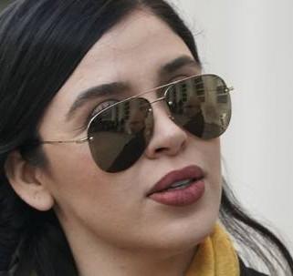 Esposa de 'El Chapo' arrestada por narcotráfico en EU