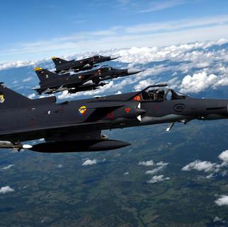 Avión de combate de la Fuerza Aérea de EE.UU. cae en mar de Inglaterra
