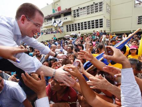 Con más de 150 mil personas cierra Anaya campaña en CDMX