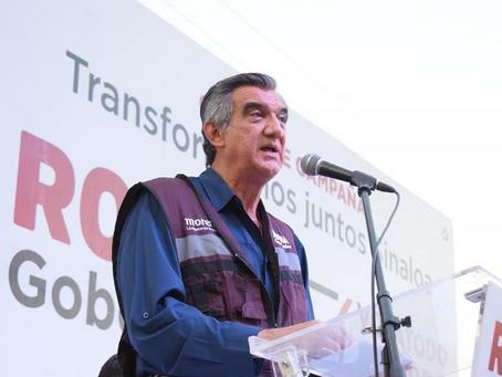 Reconoce Rubén Rocha labor de Américo Villareal en elecciones