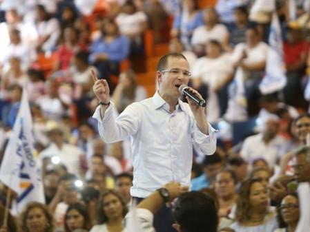 Más de 15 mil tamaulipecos aclaman a Anaya como presidente