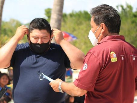 Intensifican limpieza y vigilancia sanitaria en Playa del Carmen