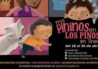 Alas y Raíces y el Complejo Cultural Los Pinos celebran a niñas y niños