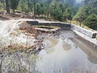 Dan mantenimiento a presas para evitar escasez de agua en Cuajimalpa