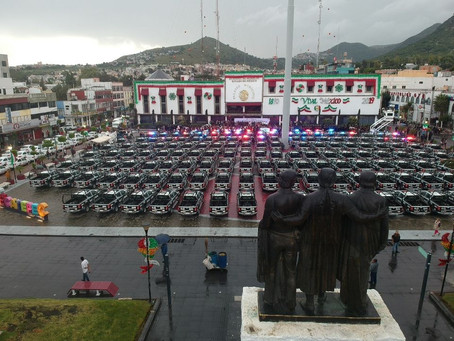 Recibe Ecatepec primera entrega de patrullas