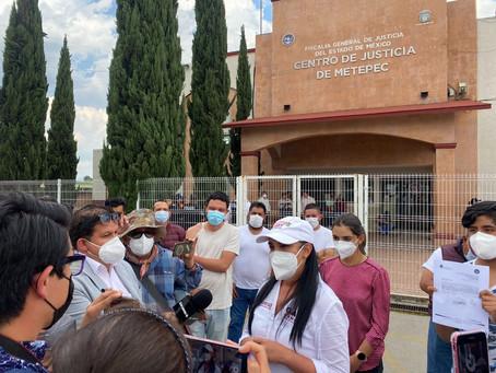 Condena Fernando Flores actos de violencia en Metepec