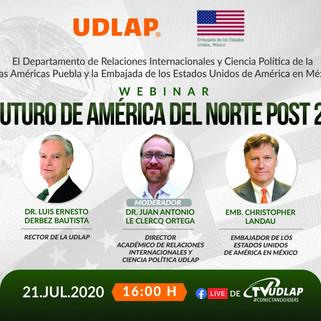 Analizan futuro de América del Norte en la UDLAP