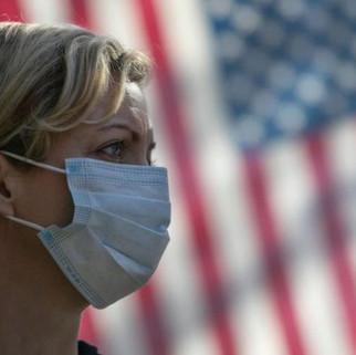Estados Unidos rebasa los dos millones de contagios por COVID-19