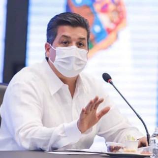 Gobernador de Tamaulipas, da positivo a COVID-19
