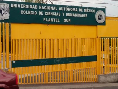 UNAM investiga caso de abuso sexual en CCH Sur