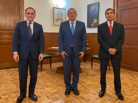 Presidente informa cambios en su gabinete; Rogelio Ramírez de la O llega a la SHCP y Arturo Herrera