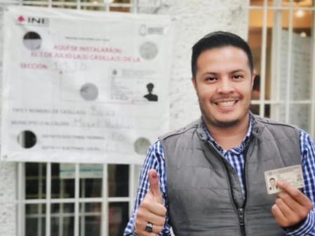 Líderes del PRD respaldan triunfo de Víctor Romo