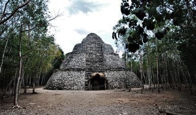 Anuncia INAH cierre temporal de Zona Arqueológica de Coba por pandemia