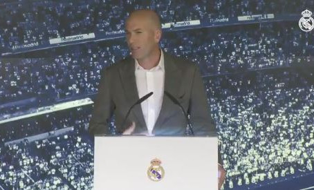 Por amor, Zidane regresa al Real Madrid