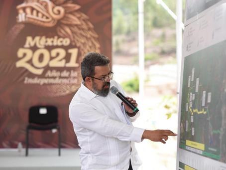 AMLO supervisa avance del 55 por ciento en construcción de autopista Mitla-Tehuantepec II