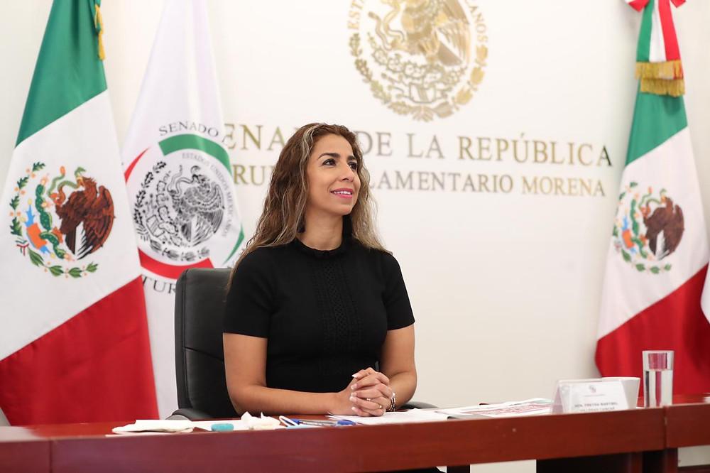 Senadora Marybel Villegas Canché