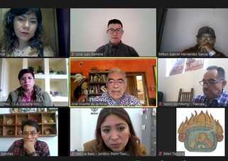 Celebran conversatorio en Tlaxcala sobre acciones del INAH en la región durante la pandemia