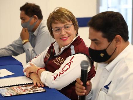 Laura Beristain presenta ante Canaco Servytur más de 140 propuestas de Gobierno
