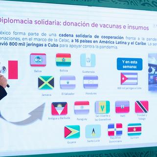 Gobierno federal anuncia compra consolidada de medicamentos para garantizar abasto