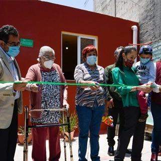Entregan casas reconstruidas en Tláhuac afectadas por el sismo de 2017; van 1,900 en la demarcación