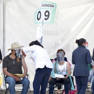 Para abril se habrán vacunado 34 millones de mexicanos: SHCP