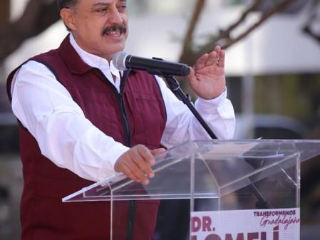 Presenta Carlos Lomelí propuestas para mejorar la seguridad en Guadalajara