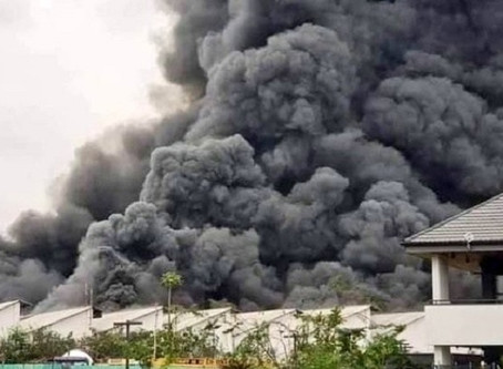 Se incendia almacén de UNICEF en el Congo; había material médico