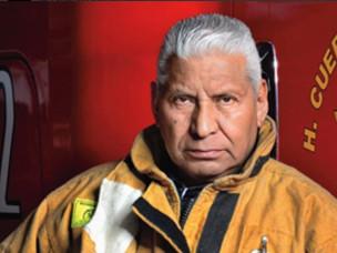 El Jefe Vulcano se despide del cuerpo de bomberos