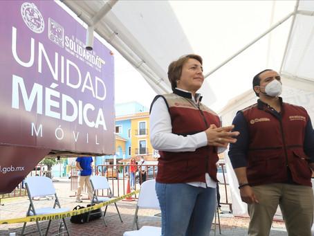 Aplicará gobierno de Solidaridad 10 mil pruebas para detectar casos de COVID-19