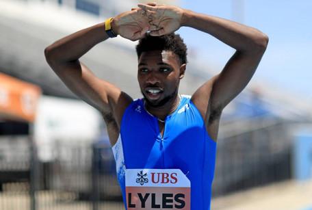 Noah Lyles rompe récord de Usain Bolt pero un error invalida la hazaña
