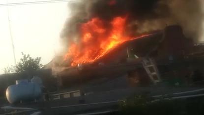 Evaluarán los daños en la Iglesia de Santiago Apóstol, en Michoacán, tras incendio