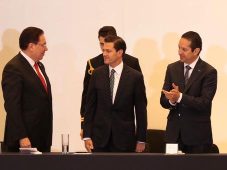 Enrique Peña Nieto Inaugura Convención Nacional de CANACINTRA