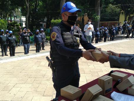 Entregan 200 equipos de radiocomunicación de alta tecnología en Alcaldía de Tlalpan