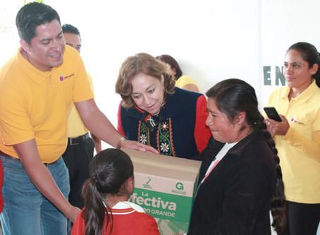 Oliver Fernández Mena enfoca filantropía a niñez indígena