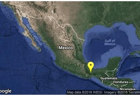 Ocurre sismo de magnitud 4.3 en Oaxaca