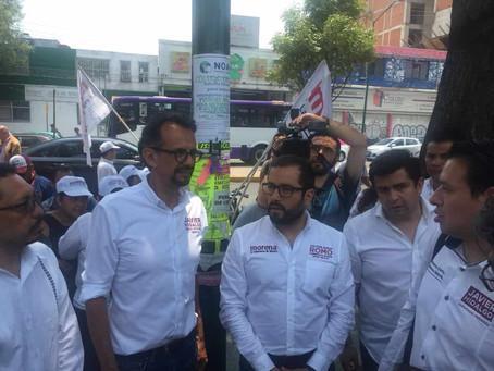 Romo propone resolver los problemas que padece Miguel Hidalgo