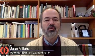 """Juan Villoro compareció en el Cecut para presentar """"Examen extraordinario"""""""