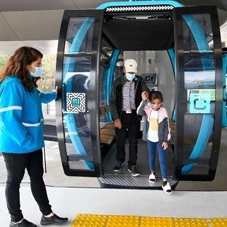 Realizan recorridos de demostración para garantizar seguridad en líneas del Cablebús