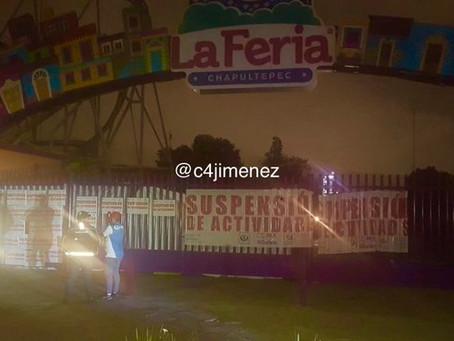 Juego de Feria de Chapultepec operaba con fugas de aceite