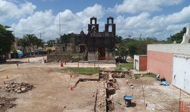 Descubren vestigios de un templo del siglo XVII y de un destacamento militar del XIX en Pisté