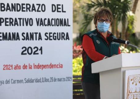 Inicia operativo vacacional de Semana Santa en Solidaridad