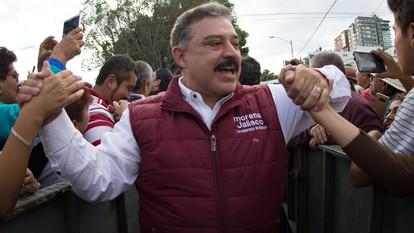 Carlos Lomelí se posiciona como el puntero para la candidatura de Morena para Guadalajara