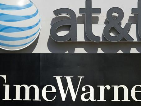 Fusión de AT&T y Time Warner en manos de un juez