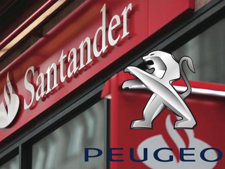 Santander México crea alianza con Peugeot para financiamiento automotriz