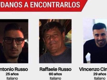 Exigen a México urgente solución al caso de los italianos desaparecidos