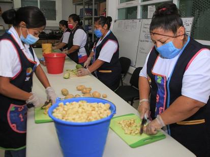 Solidaridad suma durante la pandemia más de 400 mil alimentos entregados