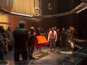 Rodolfo Neri, astronauta mexicano, devela una placa por las 101 funciones de la obra Bozal